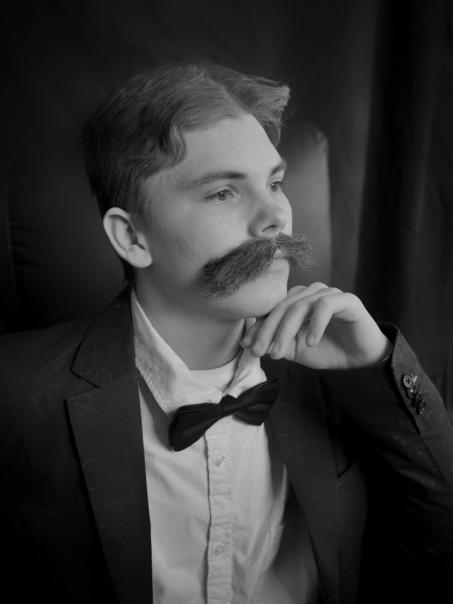 Max (ehem.) als Albert Schweitzer