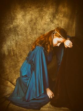Saskia als Anne Boleyn