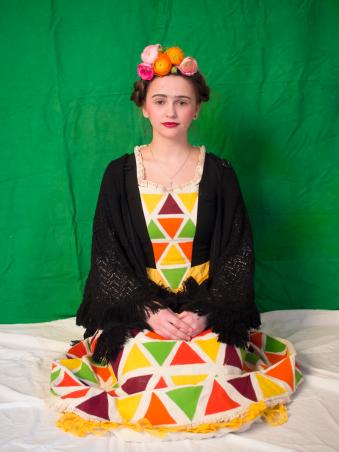 Alex (ehem.) als Frida Kahlo